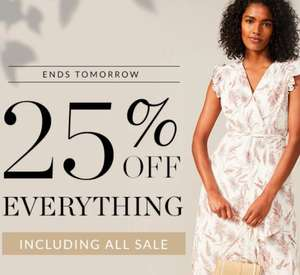 25% off Orders - Including Items in the Sale at Phase Eight
