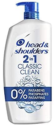 Head & Shoulders Classic Clean 2-in-1 1000ml £6.65 S&S 7 @ Amazon Prime / £11.49 Non Prime