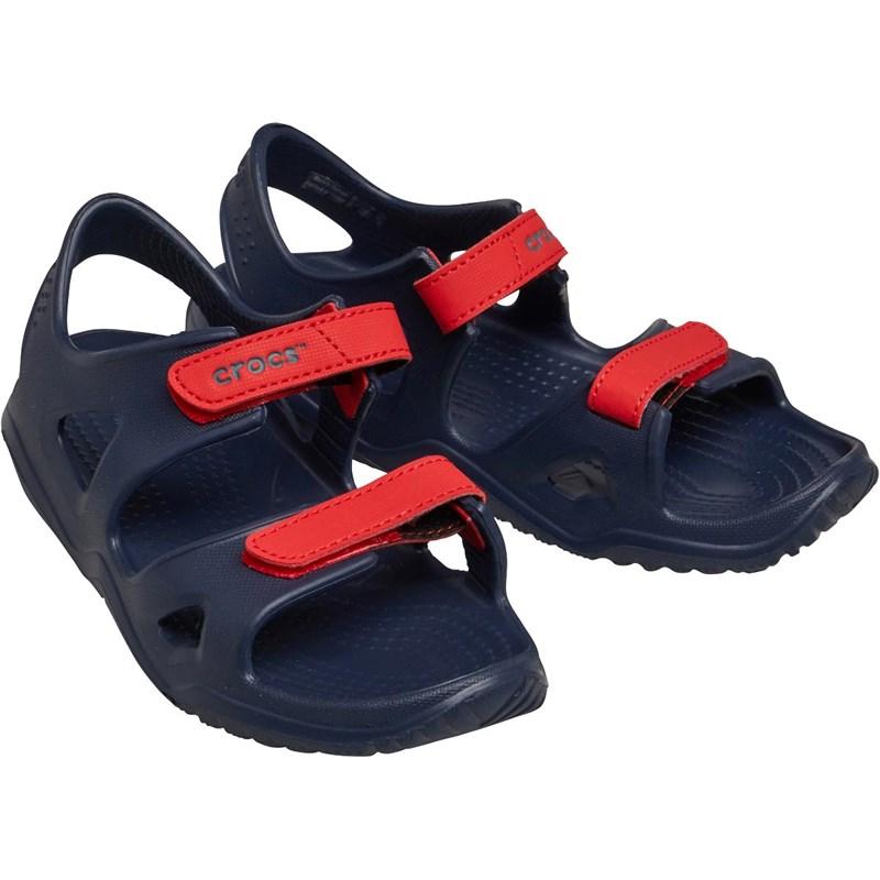 Crocs Infant Swiftwater River Sandals Navy/Flame £9.99 + £4.99 at MandM Direct