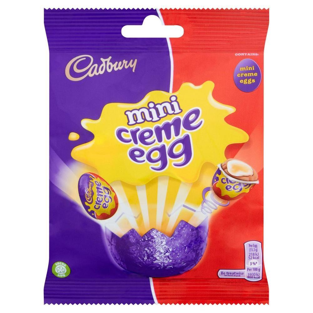 MEGA DEAL 1 pence Cadbury Creme Egg Minis 89g 1p at Approved Food