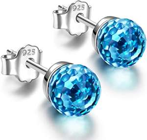 Fantastic World Series Women Stud Earrings, 925 Sterling Silver £9.99 Prime / £14.48 NP Sold by Alex Perry Jewellery and Fulfilled by Amazon