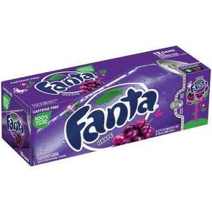 12 Pack American Grape Fanta £3.99 (Delivery £5.49/Free over £30) @ Bargain Foods
