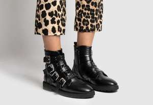 Schuh black roamer boots £11.99 + £3 delivery at Schuh