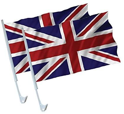 amscan 993886 Flags-2pk Britain Car Flags-2 Pcs 57p Amazon Prime / £5.06 Non Prime