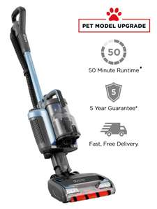 SHARK DUOCLEAN Cordless Upright Vacuum Cleaner With Powered Lift -Away [IC160UKB] With free pet or car accessories £249.95 at Shark