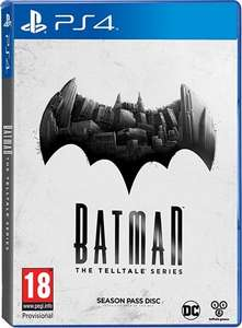 Batman: The Telltale Series Season Pass Disc - PS4 (pre-owned) £5.95 delivered @ CEX