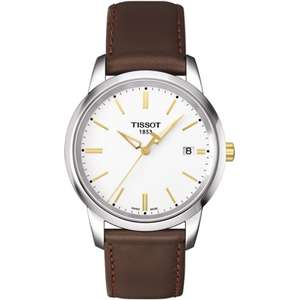 TISSOT Men's Classic Dream Quartz Watch - £128 @ Francis & Gaye