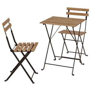 Tarno Garden table and two chairs from Ikea for £28 (Family price - delivery £9.95)