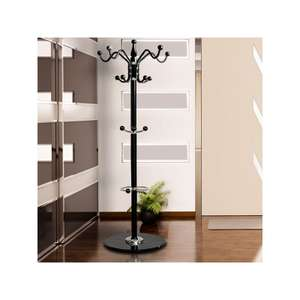 Beautiful Coat Stand Metal Clothes Rack Hooks for Umbrella Hat Storage - £19.95 Delivered @ Manomano