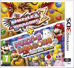 Puzzle & Dragons Z With Puzzle & Dragons - Super Mario Edition - £2.99 @ GAME (Nintendo 3DS)