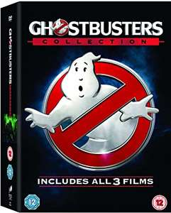 Ghostbusters - 1-3 Collection [Blu-ray] - £6.96 (+£4.49 Non-Prime) sold by NextDayEntertainment / Fulfilled by Amazon