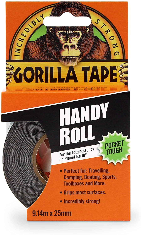 Gorilla Duct Tape Black 9.14 m, Black - £2.79 at Amazon (+£4.49 non prime)