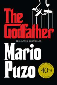 Mario Puzo The Godfather: The classic bestseller that inspired the legendary film - 99p Kindle Edition @ Amazon