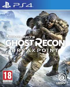 Ghost Recon Breakpoint + The Sentinel Corp. Pack (PS4) for £14.85 (+p&p 0.99) @ ShopTo