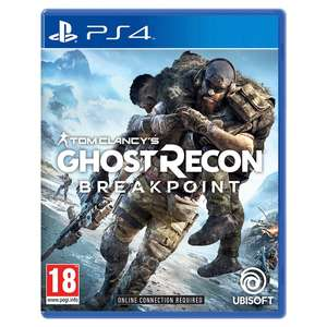 Tom Clancy`s Ghost Recon Breakpoint (PS4/Xbox One) £12.99 Delivered @ Smyths