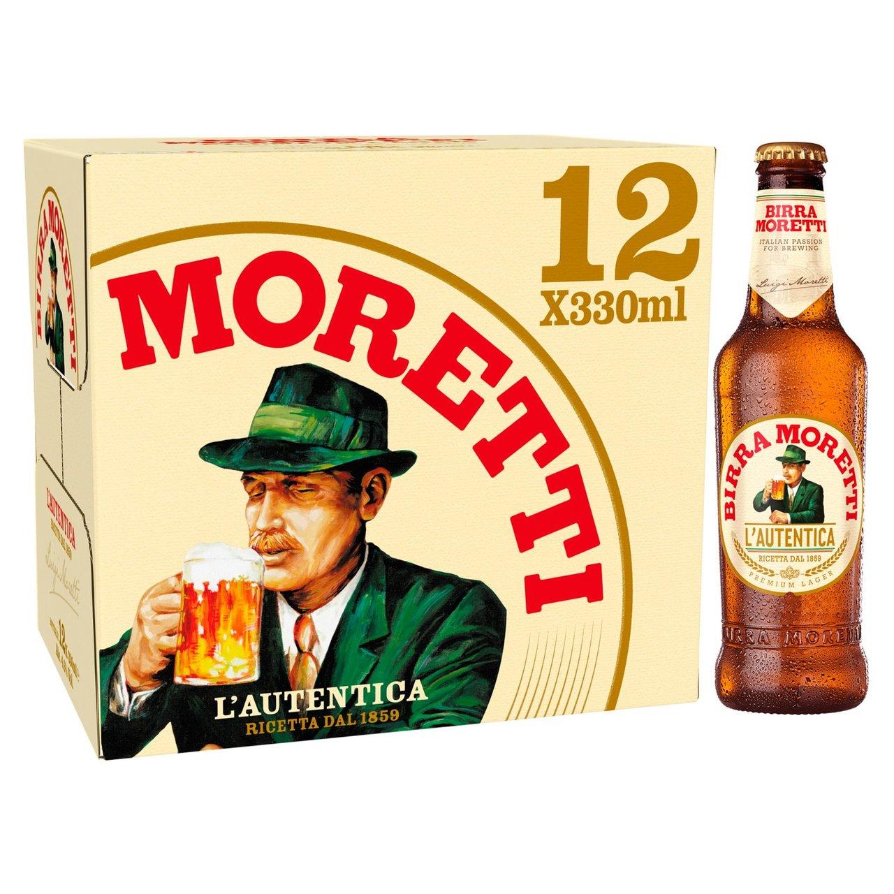 Birra Moretti 12 X 330ml bottles £10.66 Costco Liverpool