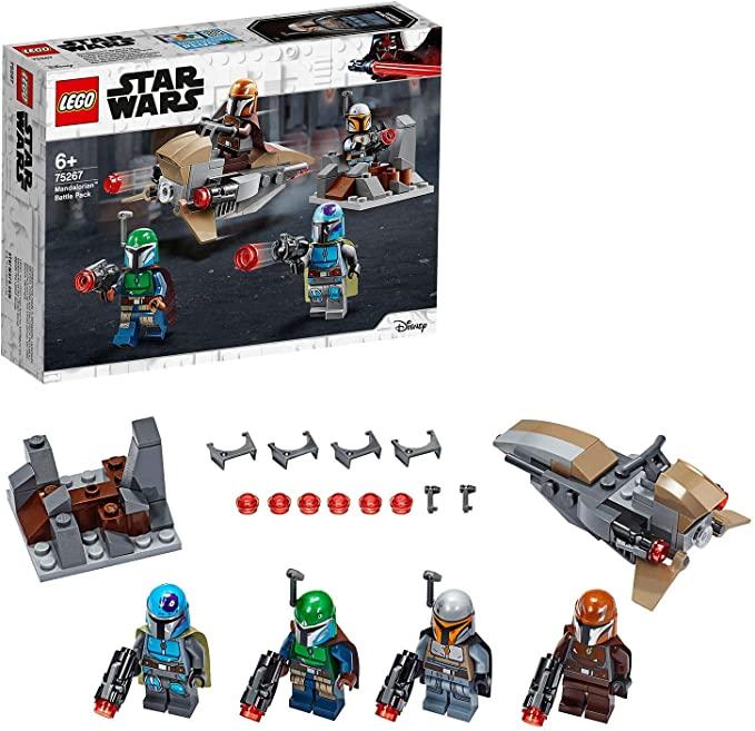 LEGO 75267 Star Wars Mandalorian Battle Pack Set with 4 Minifigures £9.97 (Prime) + £4.49 (non Prime) at Amazon
