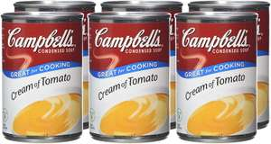 Campbell's Condensed Soup 6 Pack (4 varieties) £6 (With Prime) @ Amazon (+£4.49 non-prime)