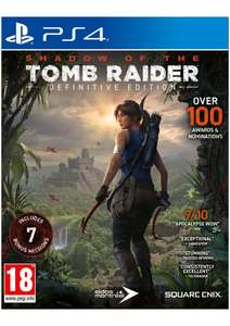 Shadow of the Tomb Raider - Definitive Edition [PS4] for £17.85 @ Simplygames