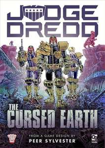 Judge Dredd: The Cursed Earth Board Game £7.50 + £1.50 delivery at Osprey Publishing