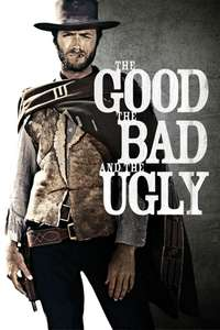The Good, the Bad and the Ugly, A Fistful of Dollars or For a Few Dollars More (HD) £3.99 each @ iTunes