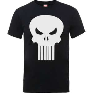 40% off Marvel clothing with free delivery (including The Punisher black t-shirt for £8.99 delivered) using code @ Zavvi