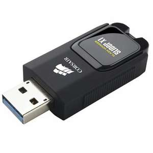 Corsair 32GB/64/128/256 Flash Voyager Slider X1 130MB/s USB 3.0 Flash Drive, from £4.99 at MyMemory (Manufacturer Refurbished)