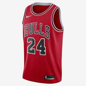 Nike Chicago Bulls Icon Edition Jersey - 24 Markkanen or 8 LaVine - £39.18 with code @ Nike (+ £4.50 delivery / FREE for Nike+ members)
