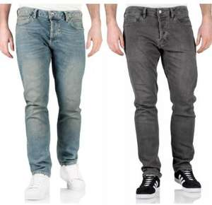 New (de-branded) Topman Mens Stretch Slim Fit Jeans Denim Blue Grey Skinny Trousers Pants £12.99 at m-and-h-trading ebay