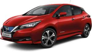 Nissan Leaf Tekna in Red PCH Lease 6k/year £281.07 x 1 + 23 plus £250 fee £6995.68 @ Willow Leasing