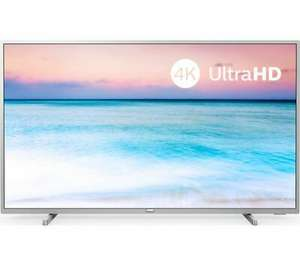 """PHILIPS 50PUS6554/12 50"""" Smart 4K Ultra HD HDR LED TV £296.92 at Currys/ebay with code"""