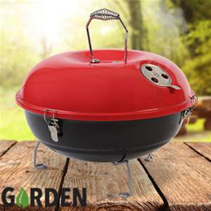 Barbecue 35cm Portable Kettle BBQ £9.99/£13.48 Delivered From Home Bargains