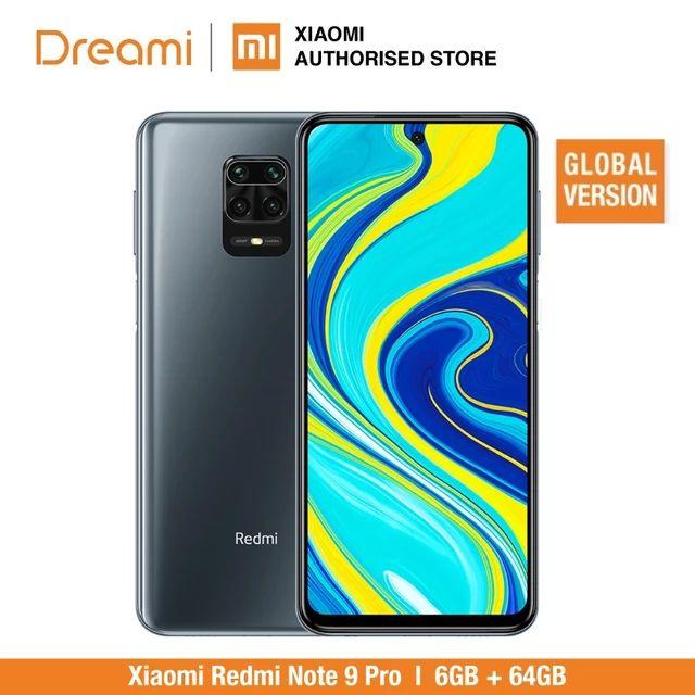 Global Version Xiaomi Redmi Note 9 Pro 6GB RAM 64GB Smartphone - £202.05 With Code @ Xiaomi Dreami / Aliexpress