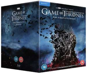 Game of Thrones: The Complete Series Blu-ray Box Set £89.99 delivered at HMV