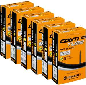 Continental Quality Road 20-25c Inner Tube 6 Pack - £19.99 @ CRC