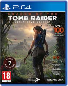 Shadow of the Tomb Raider: Definitive Edition (PS4) for £16.99 (Prime) / £19.98 (Non Prime) delivered @ Amazon