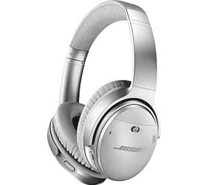 BOSE QuietComfort QC35 II Wireless Bluetooth Noise-Cancelling Headphones - Silver £199 @ Currys PC World
