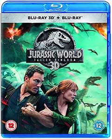 Jurassic World: Fallen Kingdom [3D Blu-ray + Blu-ray] £2.99 (Prime) + £2.99 (non Prime) at Amazon