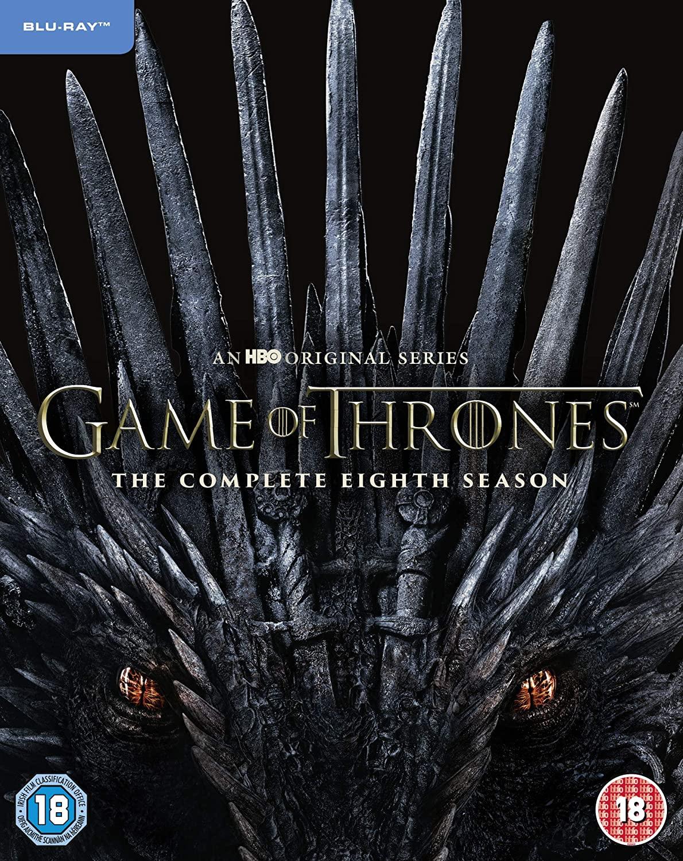 Game of Thrones: Season 8 [Blu-ray] [2019] [Region Free] £19.99 Amazon Prime / £22.98 Non Prime