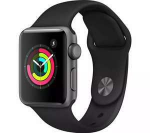 APPLE Watch Series 3 - Space Grey & Black Sports Band, 38 mm - £185.25 at Currys eBay