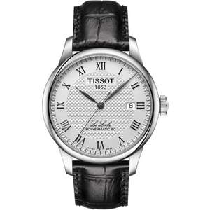 Men's Tissot Le Locle Powermatic 80 Watch £360 at Francis & Gaye