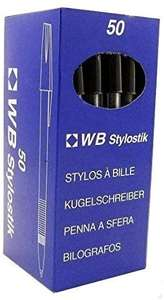 Stylostik Black Pens Pack of 50 Biros £3.01 Dispatched from and sold by NEW ERA