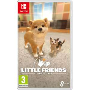 Little Friends: Dogs & Cats Nintendo Switch £19.99 delivered @ Smyths