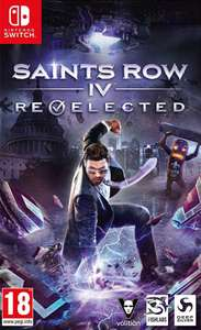Saints Row IV on Switch £24.94 delivered @ Argos