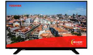 Toshiba 49 Inch Smart UHD TV 49U2963DB £272.95 delivered @ Argos