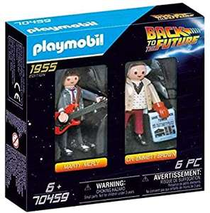PLAYMOBIL 70459 Back to the Future Marty McFly and Dr. Emmett Brown - £6.99 (Prime) + £4.49 (non Prime) at Amazon