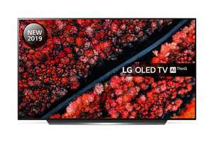 """LG OLED55C9PLA (2019) OLED HDR 4K Ultra HD Smart TV, 55"""" with Freeview Play/Freesat HD, Dolby Atmos & Free 5 Year Warranty £1199 @ C&M"""