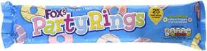 Fox's Natural Flavour Kids Party Rings 125 g (Pack of 16) £4.29 + £4.49 NP (OOS at present) @ Amazon