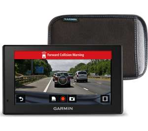 "GARMIN DriveAssist 51LMT-S EU 5"" Sat Nav - Full Europe Map, Dash Cam & Case - £129 delivered at Currys PC World"