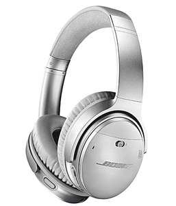 Bose QuietComfort 35 (Series II) Wireless Headphones, Noise Cancelling with Alexa built-in - Silver - £199 @ Amazon